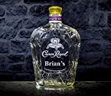 Crown Royal Whisky Personalized Engraved Bottle/Decanter