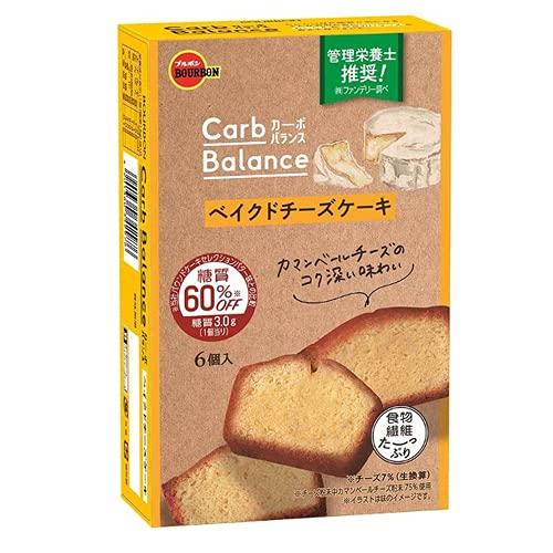 ブルボン カーボバランスベイクドチーズケーキ 6個 5コ入り