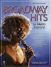 Broadway Hits for Mezzo Soprano (Music Minus One Vocals)