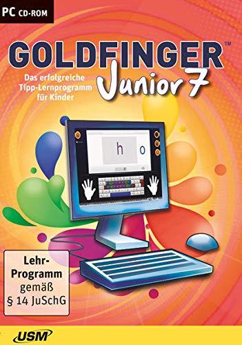 Goldfinger Junior 7: Das unterhaltsame Tipp-Lernprogramm für Kinder