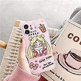 Fundapara teléfono móvil Rosa Hermosa Chica para12Pro MAX X XR XS MAX 7 8 PlusiPhone 11 Pro MAXAccesorios para teléfono para-iphone12Mini SC006-2