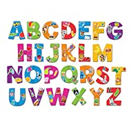 Learning Resources Alphabet Puzzle Cards, Early ABCs, Toddler Puzzle, 26-Self Correcting Puzzles, Alphabet Toys for Toddlers, ABC toys, 52 Pieces, Ages 3+