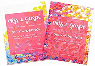 Miss de Gaspé Anti-Aging & Hydrating Dry Mask Defy & Drench