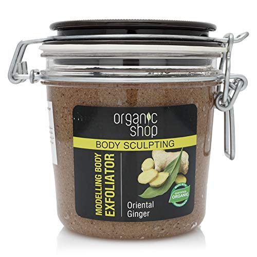 Organic Shop Jengibre Orgánico & Jojoba Exfoliador