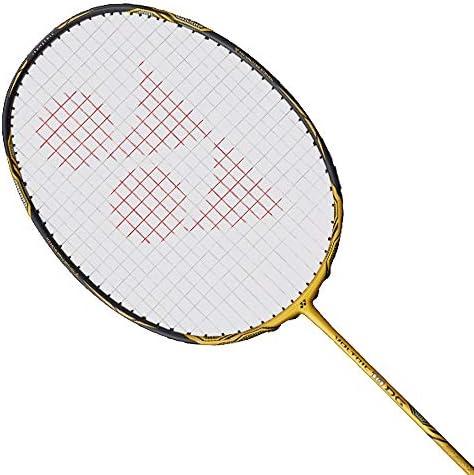 YONEX Voltirc 10 DG Badminton Racket Gold 3UG5 Strung with BG65 24lbs product image