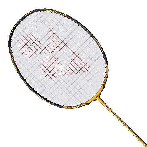YONEX Voltirc 10 DG Badminton Racket (Gold)(3UG5)(Strung with BG65 @ 24lbs)