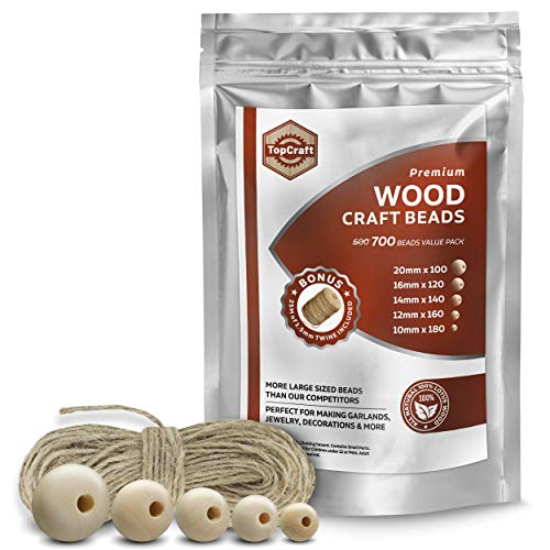 Wooden Beads for Crafts