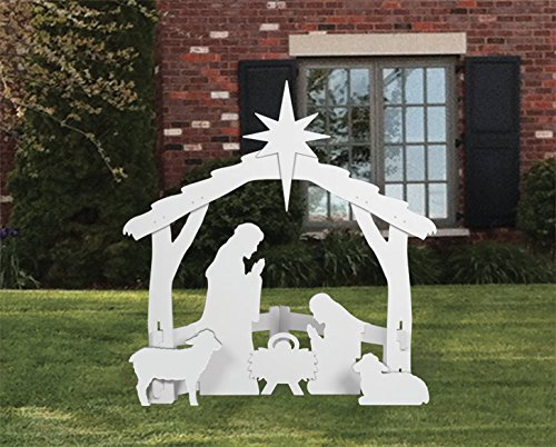 Silhouette Style Best Christmas Yard Decorations