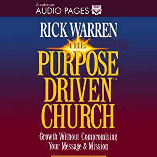 The Purpose-Driven Church audiobook cover art