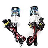 KASILU Alta qualità Paia di Alta qualità H11 35W 55W Auto Xenon HID Bulbi di Ricambio .Fai da Te (Color : 8000K)