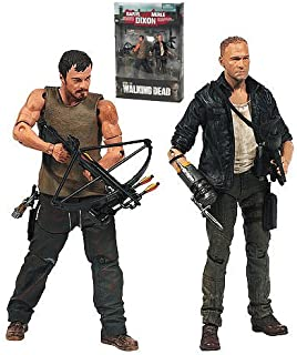 2013 Walking Dead TV Merle and Daryl Dixon Action Figure 2-Pack