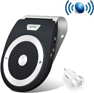 Bluetooth Manos Libres Coche Kit Auto Power ON con Sensor de