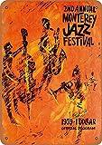 KODY HYDE Metall Poster - Monterey Jazz Festival - Vintage
