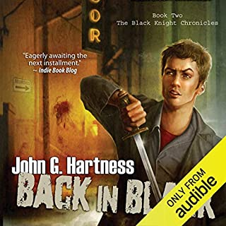 Back in Black audiobook cover art