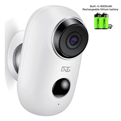 Wireless Security Camera, WiFi Camera Battery O...
