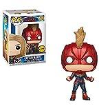 Funko Pop Captain Marvel: Captain Marvel Chase Limited Edition #36341
