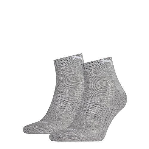 Puma Cushioned Unisex Socken, 2er Pack, grau,39-42