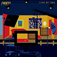 PREP Line by Line R&B ミュージックアルバムポスターキャンバスペインティングアートポスタープリントホームウォールリビングルームデコレーション-50x75インチフレームなし