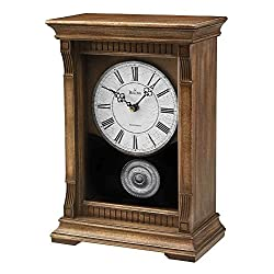 Bulova Warrick III Mantel Chime Clock - B7663