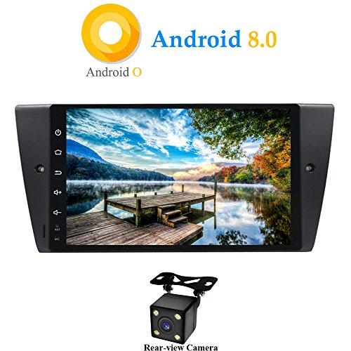 XISEDO Android 8.0 Autoradio In-Dash 9 Pulgadas Radio de Coche 8-Core RAM 4G ROM 32G Car Radio Estéreo Navegación de Automóvil para BMW 3 Series E90/ E91/ E92/ E93