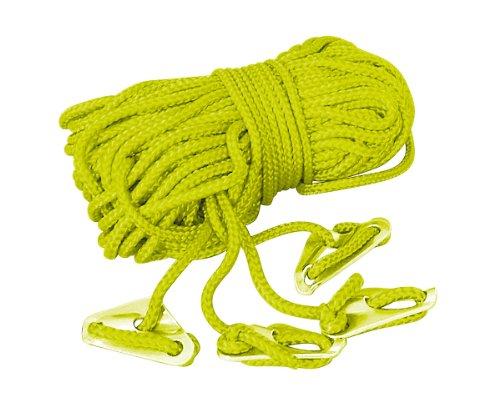 Tatonka 3736 - Cuerda para tiendas de campaña, 4 x 4 m, color amarillo
