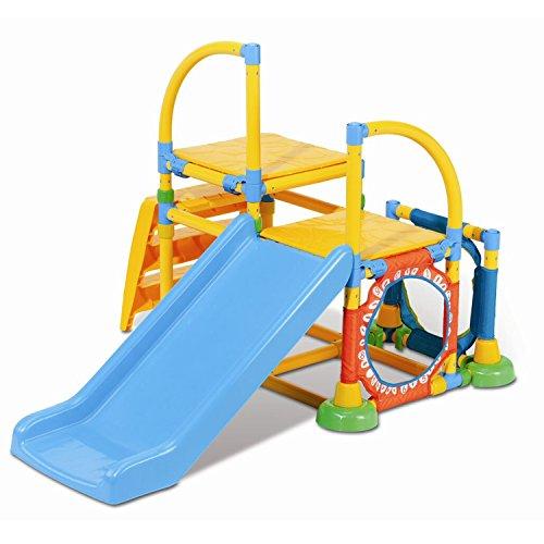 Grow'n Up Climb 'n Slide Gym, Multicolor