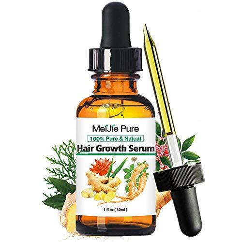 Hair Growth Serum,2020 Hair Regrowth Serum Hair Thinning Treatment, Hair Growth Treatment Liquid Hair Loss for Women & Men Dense Thicken Hair