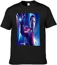 Short Sleeve T-Shirt for Men,Iron Man Tony Stark