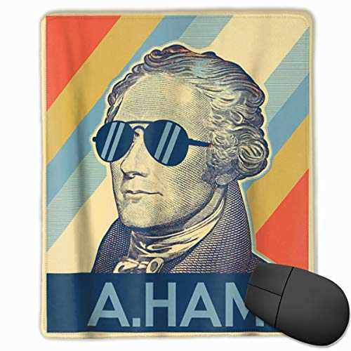 Festhad Hamilton Mouse Pad Gaming Mouse Pad Mouse Pad Non-Slip Rubber Underlay