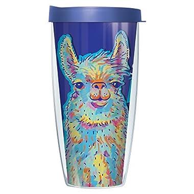 Drama Llama Tumbler Cup 22oz Mug with Lid