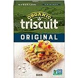 Organic TRISCUIT Crackers, Original Flavor, 1 Box (7 oz.)