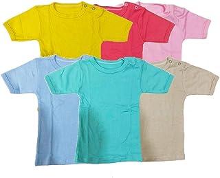 Set of 6 units T-shirt Short Sleeve Multicolor