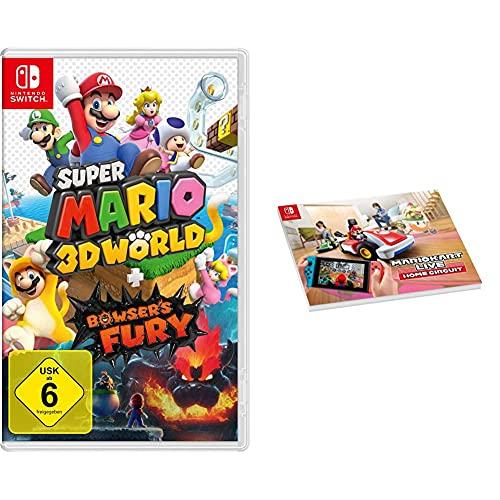 Super Mario 3D World + Bowser's Fury [Nintendo Switch] + Mario Kart Live: Home Circuit - Notebook A4