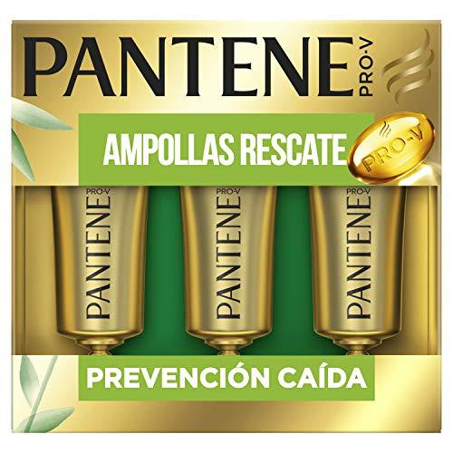 Pantene Pro-V Prevención Caída Tratamiento Intensivo Ampollas Rescate 45 ml, Con Mezcla Pro-V, Antioxidantes Y Lípidos