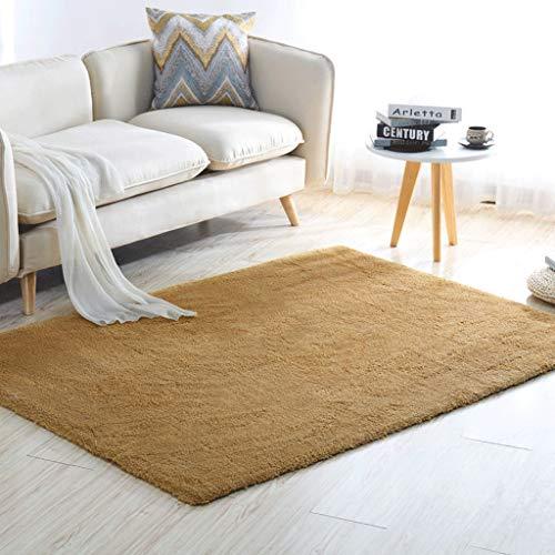 HUANGDA Salón Dormitorio Sofá Mesa de Centro Alfombra Sencillo Moderno Suave y...