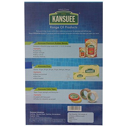 Kansuee Pen, Pencil Carbon Paper (210 mm x330 mm, 100 Sheets)