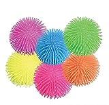 Rhode Island Novelty Puffer Balls Assorted Colors Set of 12