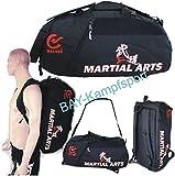 "BAY® XL Sporttasche ""Martial Arts"" im Rucksack Syte shoulder bag"