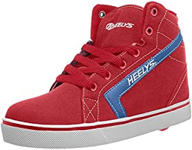 Heelys Boy's GR8R Hi (Little Kid/Big Kid/Adult) Red/Royal 13 Little Kid