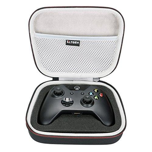 LTGEM EVA Duro Caso Viajar Proceso de Llevar Portable Almacenaje Bolsa para Xbox One Controller con Malla Bolsillo Encaja Plug y Cables