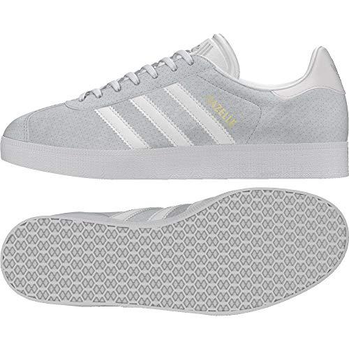 adidas Damen Gazelle W Fitnessschuhe, Weiß (Blacla/Blacla/Tinorc 000), 36 2/3 EU
