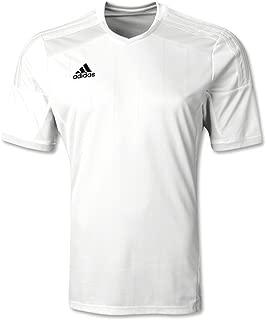 adidas Men's Regista 14 Soccer Jersey, White, L