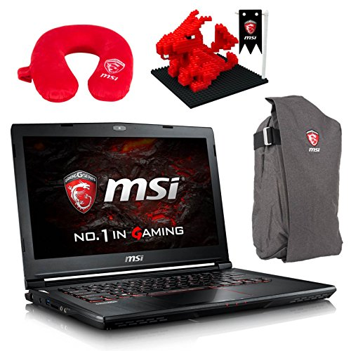 "MSI GS43VR Phantom Pro-006 (i7-6700HQ, 32GB RAM, 256GB NVMe SSD + 1TB HDD, NVIDIA GTX 1060 6GB, 14"" Full HD, Windows 10) VR Ready Gaming Notebook"