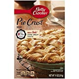 Betty Crocker Pie Crust Mix, 11oz Box (Pack of 6)