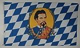 Flagge Fahne Bayern König Ludwig 90x60 cm wetterfest und lichtecht für innen und aussen