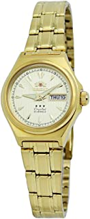 Orient Tri Star Automatic Champagne Dial Ladies Watch FNQ1S002C9
