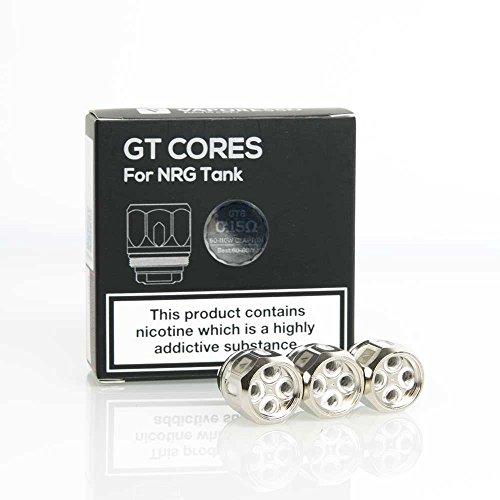Resistencias Vaporesso GT Core 8 GT8 0.15 ohm (PACK de 3) - Bobinas para venganza NRG Tanques - Sin nicotina O tabaco
