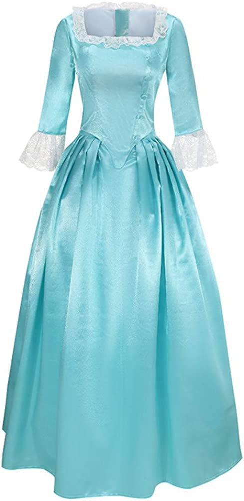 Cos-Love Max 85% OFF Women's Ranking TOP1 Colonial Lady Corset Victorian Roc Styled Dress