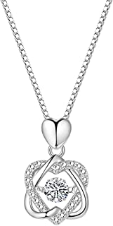 jinyi2016SHOP Necklace Silver Chain Necklace for Women New Female 999 Silver Summer Sterling Silver Color Gold Light Luxur...