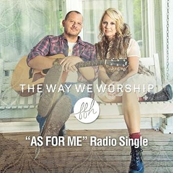 As For Me (Radio Edit) - Single